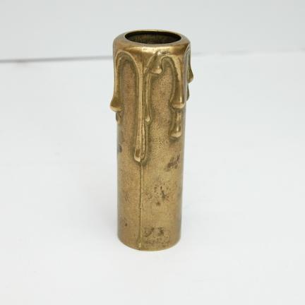 Gilza osłonka świeczka mosiężna na żyrandol,E14