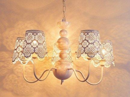 Lampa wisząca Italux Arianna V2473B-5 WH