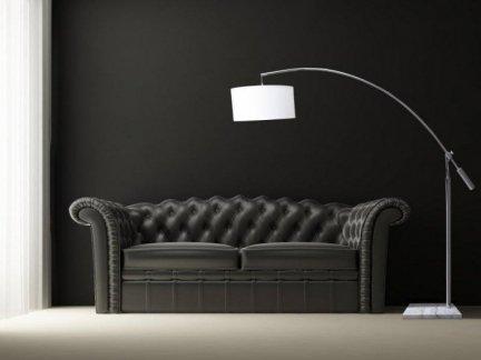 Lampa PODłOGOWA TS 06112F-CH CHROME/WHITE BIANCA