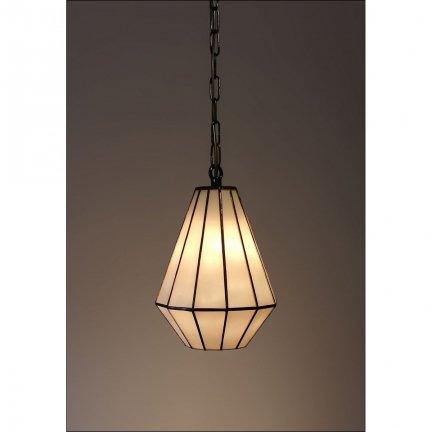 Lampa żyrandol zwis witraż ARTDEC 17cm
