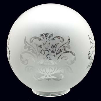 Klosz kulka -Klosz szklany K3/001 - klosze do lamp