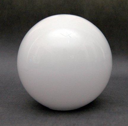 Klosz szklany kula średnica 12 cm,klosz kulka połysk