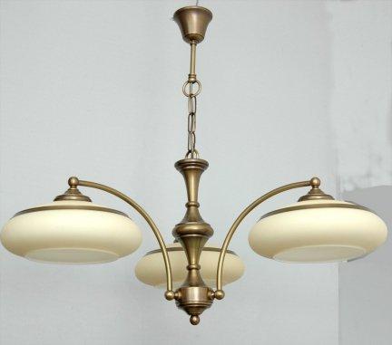 Żyrandol mosiężny JBT Stylowe Lampy WZMB/W63Z/d3
