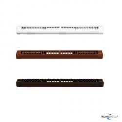 Nawiewnik ciśnieniowy 2MO + okap standardowy - 4 kolory