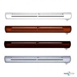 Nawiewnik higrosterowany EXR + łącznik akustyczny + okap akustyczny - 4 kolory