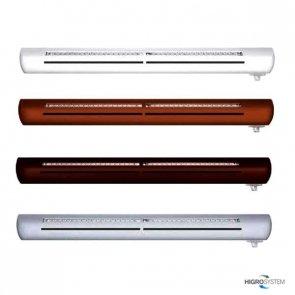 Nawiewnik higrosterowany EXR + łącznik akustyczny (bez okapu) - 4 kolory