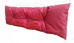 Poduszka ogrodowa na paletę - oparcie 120x40 wz. Bordowy