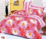 Poszewki na poduszki 40x40 bawełna satynowa wz. 0070