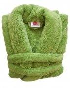 Szlafrok Wellsoft rozmiar M kolor - zielony