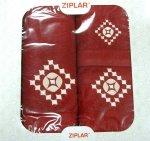 Trzyczęściowy komplet ręczników Ziplar w pudełku - Zen