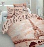 Pościel bawełniana LifeStyle 3D 160x200 lub 140x200 Paris