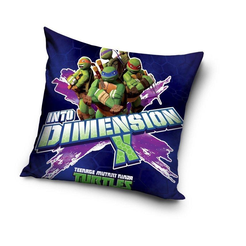 Nickelodeon Poszewka 40x40 Wz żółwie Ninja 1005 Poszewki 40x40
