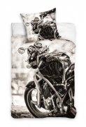 Pościel młodzieżowa 100% bawełna 160x200 lub 140x200 - Motocykl wz. NL161004