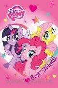 Ręcznik DISNEYA- My Little Pony - rozmiar 40x60