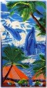 Ręcznik plażowy PL47 - rozmiar 70x148