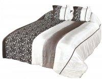 Narzuta na łóżko 180x220 + 2 poszewki 40x40 wz. Wiktoria 15