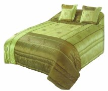 Narzuta na łóżko 220x240 + 2 poszewki 40x40 wz. Wiktoria 11