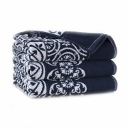 Ręcznik frotte ENRICA 50x100 kolor granatowy