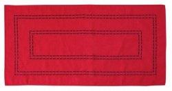 Obrus Haftowany Bruna 59-R 35x170 cm kolor: czerwony