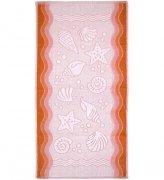Ręcznik FLORA OCEAN 50x100 kolor brzoskwinia