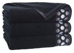 Ręcznik ZEN 50x90 kolor czarny