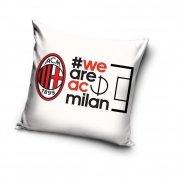 Poszewka 40x40 AC Milan wz. acm8006