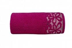 Ręcznik BELLA 50x90 kolor fuksja