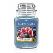 Świeca Yankee Candle Mulberry & Fig Delight - duży słoik