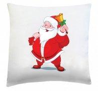 Poduszka świąteczna 40x40 wz. Święty Mikołaj