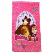 Ręcznik licencyjny - Masza i Niedźwiedź- rozmiar 40x60