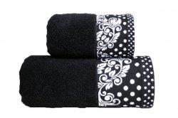 Ręcznik MELISSA 50x90 kolor czarny