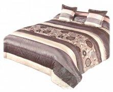 Narzuta na łóżko 220x220 + 2 poszewki 40x40 wz. Wiktoria 03