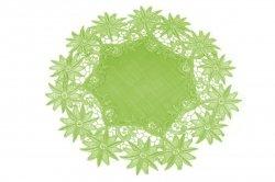 Obrus 40cm koło wz. 606  Kolor: Zielony