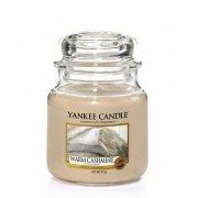 Świeca Yankee Candle Warm Cashmere - średni słoik