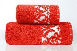 Ręcznik VENEZIA 70x140 kolor czerwony