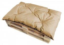 Poduszka ogrodowa na paletę - siedzisko 120x80 wz. Beż