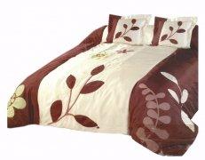 Narzuta na łóżko 180x220 + 2 poszewki 40x40 wz. Wiktoria 20