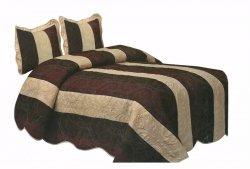 Narzuta na łóżko 220x240 + 2 poszewki 40x40 wz. Wiktoria 19