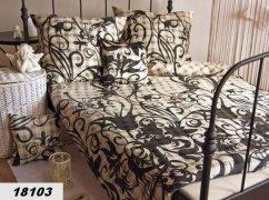 Poszewki na poduszki 40x40 satyna ANDROPOL wz. 18103