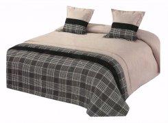 Narzuta na łóżko 220x240 + 2 poszewki 40x40 wz. Wiktoria 23