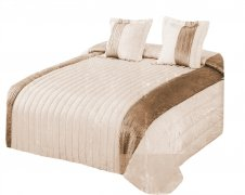 Narzuta na łóżko 220x240 + 2 poszewki 40x40 wz. Wiktoria 27