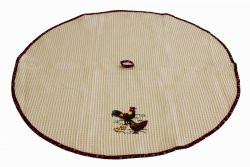 Ścierka kuchenna haftowana 75cm koło wz. 01 Koguty