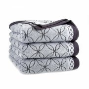 Ręcznik frotte GOBI Z SERII PERFECT COLLECTION 50x100 kolor szary