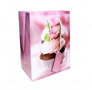 Ozdobne opakowanie, torebka na prezent 18x24cm wz. 001-1326 Wedding