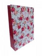 Ozdobne opakowanie, torebka na prezent 33,5 x 45 wz. Flower 008