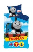 Pościel licencyjna 100% bawełna 160x200 lub 140x200 wz. Thomas 710-285
