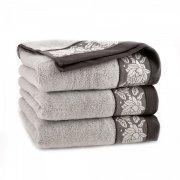 Ręcznik frotte KARIF 70x140 kolor brązowy