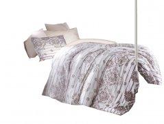 Pościel bawełniana DARYMEX kolekcja Exclusive Cottonlove 160x200 lub 140x200 + 2x70x80 wz. SERENITY KAHVE