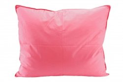 Poduszka półpuchowa 70x80 wz. różowy