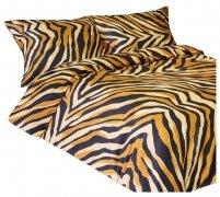 Pościel satynowa DARYMEX kolekcja Exclusive 140x200  - wz. Bengal Brown